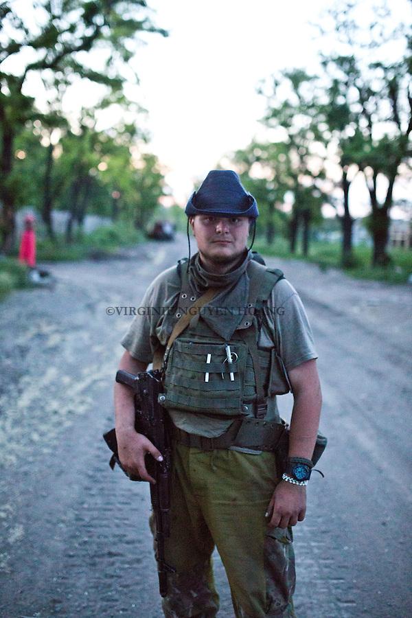 During the night between 6 and 7th of August, Daniel was hit by a 82mm RPG and died on the frontline of Donetsk airport. During an interview, he told me &quot;War is a bitch&quot; after losing one of his best friend one month ago. At only 19 years old, Daniel wanted to go home and have a rest far from the war as psychologically, he didn't feel well... War is a real bitch, rest in peace...<br /> <br /> Dans la nuit du 6 au 7 Ao&ucirc;t, Daniel a &eacute;t&eacute; touch&eacute; par un RPG 82mm et est mort sur le front de l'a&eacute;roport de Donetsk. Lors d'une interview, il m'a dit: &laquo;La guerre est une salope&quot;, apr&egrave;s avoir perdu l'un de ses meilleurs amis il y a un mois. &Agrave; seulement 19 ans, Daniel voulait rentrer &agrave; la maison et se reposer loin de la guerre car psychologiquement, il ne se sentait pas bien ... La guerre est une vraie salope, repose en paix ...