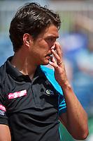 09-07-13, Netherlands, Scheveningen,  Mets, Tennis, Sport1 Open, day two,  Jesse Huta Galung (NED)<br /> <br /> <br /> Photo: Henk Koster