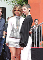 14 May 2019 - Hollywood, California - Halle Berry, Asia Kate Dillon. Keanu Reeves Places His Hand Prints In Cement At TCL Chinese Theatre IMAX Forecourt.   <br /> CAP/ADM/PMA<br /> ©PMA/ADM/Capital Pictures