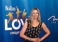 LAS VEGAS, NV - July 14, 2016: Mira Sorvino pictured arriving at The Beatles LOVE by Cirque Du Soleil at The Mirage Resort in Las vegas, NV on July 14, 2016. Credit: Erik Kabik Photography/ MediaPunch
