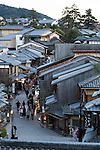 Tourists gather in the Higashiyama District of Kyoto on January 16, 2016, in Kyoto, Japan. The Japan National Tourism Organization reported on Tuesday a record increase in foreign visitors in 2015. Approximately 19.73 million people visited Japan from abroad, up 47.3 percent compared with 2014 and almost four times the 5.21 million that came in 2003. According to the report there were more Chinese visitors than from any other nation with 4.99 million coming in 2015. South Korea (4 million) and Taiwan (3.67 million) were next on the list, and over 1 million Americans also visited Japan in 2015. The number of visitors is the highest in 45 years and already close to Japan's goal of attracting 20 million foreign visitors in a year by 2020. (Photo by Rodrigo Reyes Marin/AFLO)