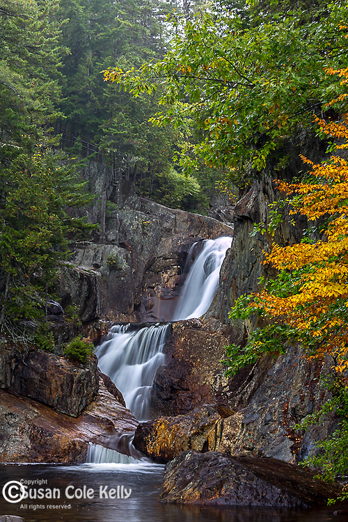 Smalls Falls in Phillips, Maine, USA