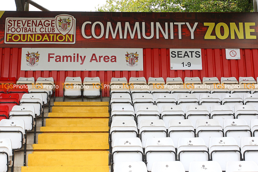 General view of the Community Zone during Stevenage vs Hartlepool United, Sky Bet EFL League 2 Football at the Lamex Stadium on 3rd September 2016