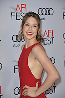 LOS ANGELES, CA. November 10, 2016: Actress Taissa Farmiga at World Premiere of &quot;Rules Don't Apply&quot;, part of the AFI Fest 2016, at the TCL Chinese Theatre, Hollywood.<br /> Picture: Paul Smith/Featureflash/SilverHub 0208 004 5359/ 07711 972644 Editors@silverhubmedia.com