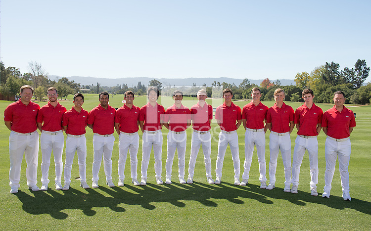 Stanford, Ca - Wednesday, September 28, 2016: Stanford Men's team photo.