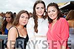 Becky Dalton (Athea), Tara Histon (Athea) and Mary Bates (Duagh), enjoying Ladies Day at Listowel Races on Friday last.