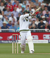 South Africa's Hashim Amla<br /> <br /> Photographer Stephen White/CameraSport<br /> <br /> Investec Test Series 2017 - Second Test - England v South Africa - Day 1 - Friday 14th July 2017 - Trent Bridge - Nottingham<br /> <br /> World Copyright &copy; 2017 CameraSport. All rights reserved. 43 Linden Ave. Countesthorpe. Leicester. England. LE8 5PG - Tel: +44 (0) 116 277 4147 - admin@camerasport.com - www.camerasport.com