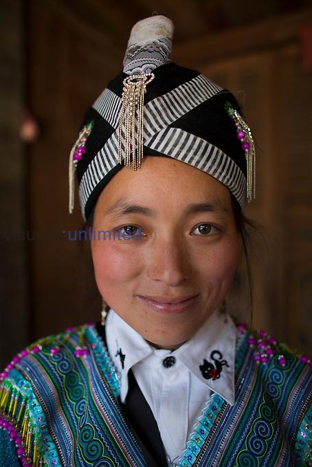 Hmong tribe woman, Northern Vietnam