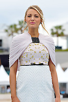 """Blake Lively attends the """"THE SHALLOWS ñ GEFAHR AUS DER TIEFE"""" Photocall at Majestic Beach Pier during the 69th annual International Cannes Film Festival in Cannes, France, 13th May 2016. <br /> UPDATE IMAGES PRESS/Timm/face to face<br /> <br /> *** Germany Out ***"""