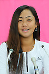 Eri Hozumi (JPN), <br /> JULY 13, 2016 - Tennis : <br /> A press conference <br /> for Rio Olympic Games in Tokyo, Japan. <br /> (Photo by YUTAKA/AFLO SPORT)