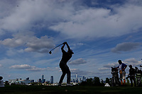 Abraham Ancer (MEX) in action during the final round of the Northern Trust played at Liberty National Golf Club, Jersey City, USA. 12/08/2019<br /> Picture: Golffile | Phil INGLIS<br /> <br /> All photo usage must carry mandatory copyright credit (© Golffile | Phil INGLIS)