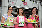 Cake Couture - (from left) Emma Hughes,  Aoife Collins and Jo-Anne Roberts.
