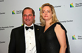 United States Secretary of Health and Human Services (HHS) Alex Azar, and his wife, Jennifer, arrive for the formal Artist's Dinner honoring the recipients of the 42nd Annual Kennedy Center Honors at the United States Department of State in Washington, D.C. on Saturday, December 7, 2019. The 2019 honorees are: Earth, Wind & Fire, Sally Field, Linda Ronstadt, Sesame Street, and Michael Tilson Thomas.<br /> Credit: Ron Sachs / Pool via CNP