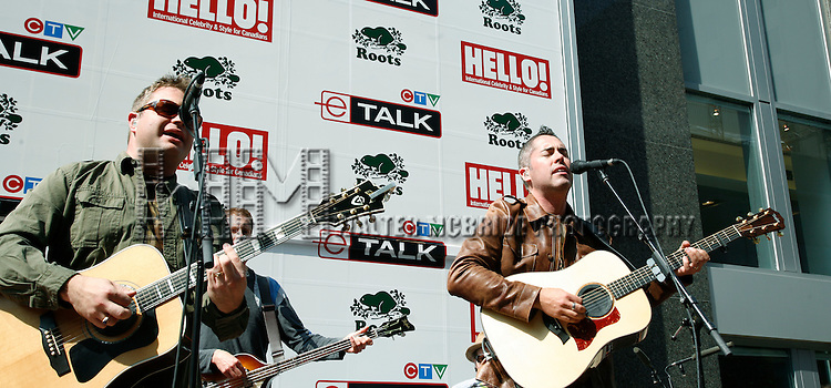 Bare Naked Ladies gives a Free Midday Concert sponsored by ROOTS, Hello Magazine & CTV e Talk to kick off the Toronto Film Festival on.September 7, 2006 in Toronto, Canada. .© Walter McBride /