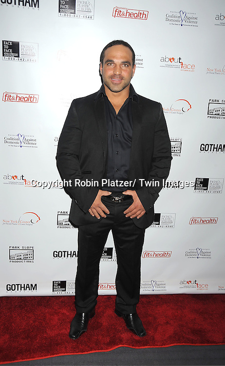 Joe Gorga of The Real Housewives of New Jersey attend  The About Face Benefit for Domestic Violence Survivors on October 20, 2011 at the Trump Soho Hotel..in New York City.