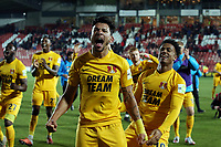 O's Macauley Bonne  & JOsh Koroma at Ft during Wrexham vs Leyton Orient, Vanarama National League Football at the Racecourse Ground on 24th November 2018