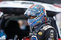 Jun 18, 2017; Bristol, TN, USA; NHRA top fuel driver Antron Brown during the Thunder Valley Nationals at Bristol Dragway. Mandatory Credit: Mark J. Rebilas-USA TODAY Sports