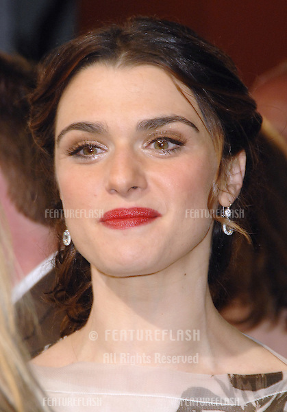 """RACHEL WEISZ at the US premiere of her new movie """"The Fountain"""" at Grauman's Chinese Theatre, Hollywood..November 11, 2006  Los Angeles, CA.Picture: Paul Smith / Featureflash"""