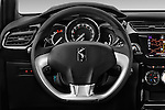 Car pictures of steering wheel view of a 2016 Ds DS-3 Sport-Chic 2 Door Convertible Steering Wheel