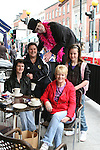 Sharon Barron, Nikitta Fleming, Delores McShane and Tara Fleming with Myles Long at the West Street Wonderland....Photo NEWSFILE/Jenny Matthews.(Photo credit should read Jenny Matthews/NEWSFILE)....This Picture has been sent you under the condtions enclosed by:.Newsfile Ltd..The Studio,.Millmount Abbey,.Drogheda,.Co Meath..Ireland..Tel: +353(0)41-9871240.Fax: +353(0)41-9871260.GSM: +353(0)86-2500958.email: pictures@newsfile.ie.www.newsfile.ie.FTP: 193.120.102.198.