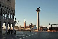 View of San Giorgio Maggiore from St Marks square. Venice, Italy. My 2007