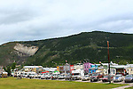 Dawson City Front Street, Moosehide Slide,THE YUKON TERRITORY, CANADA