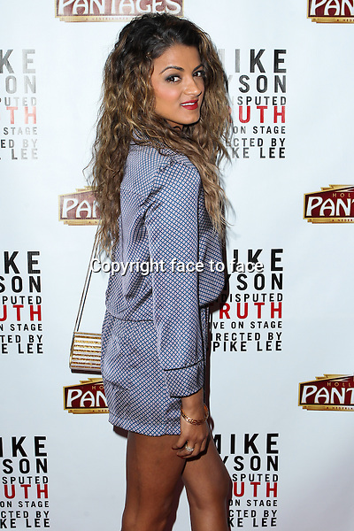 """Golnesa Gharachedaghi, GG attending the """"Mike Tyson: Undisputed Truth"""" Los Angeles Opening Night held at The Pantages Theatre on March 8, 2013 in Hollywood, California. ..Credit: MediaPunch/face to face..- Germany, Austria, Switzerland, Eastern Europe, Australia, UK, USA, Taiwan, Singapore, China, Malaysia and Thailand rights only -"""