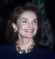 Jaqueline Kennedy 1990<br /> Photo By John Barrett/PHOTOlink.net