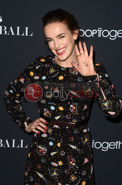Elizabeth Henstridge<br /> at the Annual Baby Ball in honor of World Adoption Day, NeueHouse, Hollywood, CA 11-11-16<br /> David Edwards/DailyCeleb.com 818-249-4998