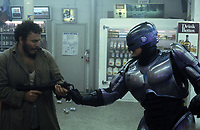 RoboCop (1987) <br /> Peter Weller &amp; Mike Moroff<br /> *Filmstill - Editorial Use Only*<br /> CAP/KFS<br /> Image supplied by Capital Pictures