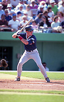 Boston Red Sox John Flaherty during spring training circa 1992 at Baseball City Stadium in Davenport, Florida.  (MJA/Four Seam Images)