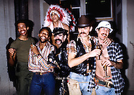 Greenwich Village, Manhattan, New York City, NY. April 4th, 1978. The Village People is a disco group known for their costumes depicting American masculine stereotypes. The 1978 Macho Man single brings mainstream attention on a newly created band: the Village People. It will quickly become one of the touchstones of their career.