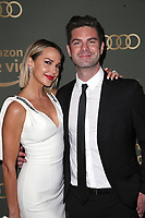 BEVERLY HILLS, CA - JANUARY 06: Arielle Kebbel and Sterling Jones at the Amazon Prime Video's Golden Globe Awards After Party at The Beverly Hilton Hotel on January 6, 2019 in Beverly Hills, California. Credit: Faye Sadou/MediaPunch<br /> CAP/MPI/FS<br /> &copy;FS/MPI/Capital Pictures