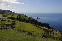 bei Moistero auf der Insel Flores, Azoren, Portugal