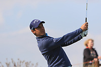 Matteo Manassero (ITA) on the 13th tee during Round 1 of the Rocco Forte Sicilian Open 2018 on Thursday 5th May 2018.<br /> Picture:  Thos Caffrey / www.golffile.ie<br /> <br /> All photo usage must carry mandatory copyright credit (&copy; Golffile | Thos Caffrey)