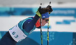 Callum Smith (GBR, 63) finishes the race. Mens 15km Skiathlon. Cross country skiing. Pyeongchang2018 winter Olympics. Alpensia cross country centre. Alpensia. Gangneung. Republic of Korea. 11/02/2018. ~ MANDATORY CREDIT Garry Bowden/SIPPA - NO UNAUTHORISED USE - +44 7837 394578