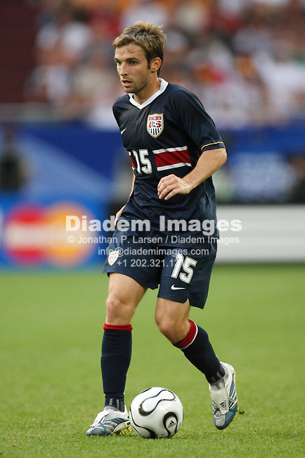 GELSENKIRCHEN, GERMANY - JUNE 12:  Bobby Convey of the United States in action during a FIFA World Cup soccer match against the Czech Republic June 12, 2006 in Gelsenkirchen, Germany.  (Photograph by Jonathan P. Larsen)