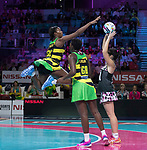 Fast5 2017<br /> Fast 5 Netball World Series<br /> Hisense Arena Melbourne<br /> Match <br /> Sth Arica v Jamaica<br /> Stacian Facey<br /> <br /> <br /> <br /> Photo: Grant Treeby