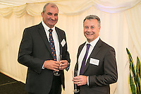Mark Philpott (left) of Robert Ellis Estate Agents and Graham Webster of Savills