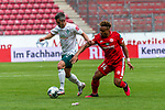 Fin Bartels (Werder Bremen #22), Kunde Malong (FSV Mainz 05 #14)<br /> <br /> <br /> Sport: nphgm001: Fussball: 1. Bundesliga: Saison 19/20: 33. Spieltag: 1. FSV Mainz 05 vs SV Werder Bremen 20.06.2020<br /> <br /> Foto: gumzmedia/nordphoto/POOL <br /> <br /> DFL regulations prohibit any use of photographs as image sequences and/or quasi-video.<br /> EDITORIAL USE ONLY<br /> National and international News-Agencies OUT.