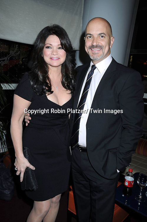 "Valerie Bertinelli and husband Tom Vitale attending Betty White's 89th Birthday party given by TV Land and the cast of ""Hot in Cleveland"" on January 18, 2011 at .Le Cirque in New York City."