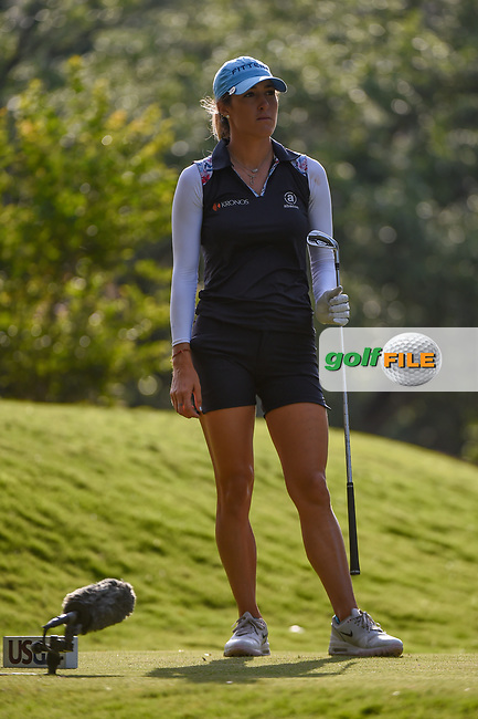 Jaye Marie Green (USA) waits on the tee on 11 during round 2 of the 2019 US Women's Open, Charleston Country Club, Charleston, South Carolina,  USA. 5/31/2019.<br /> Picture: Golffile | Ken Murray<br /> <br /> All photo usage must carry mandatory copyright credit (© Golffile | Ken Murray)