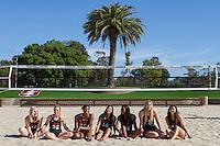 03312016 Stanford WOmen's Beach Volleyball Team Photo