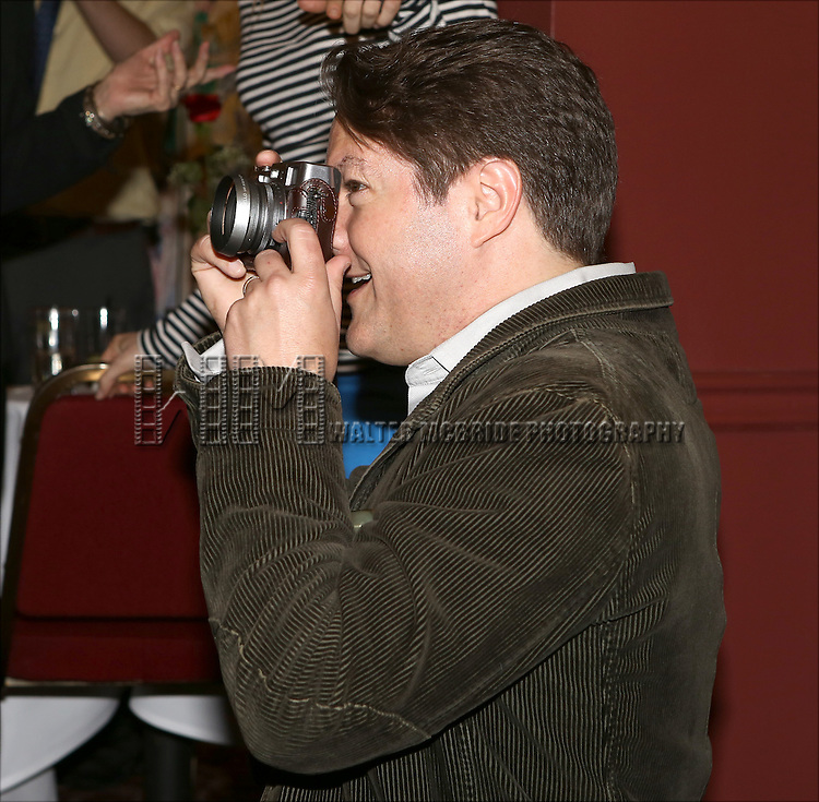 Robert Petkoff attends the Sardi's Caricature Unveiling for Bryan Cranston on May 29, 2014 in New York City