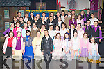 Students who performed in Grease Mounthawks School play at Siamsa Tire on Tuesday evening.