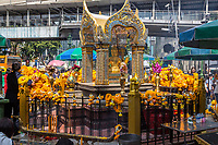 Bangkok, Thailand.  Erawan Shrine.