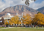 0910-57 137.CR2..GCS Fall Campus color.Photography by Mark A. Philbrick..Copyright BYU Photo 2009.All Rights Reserved.photo@byu.edu  (801)422-7322