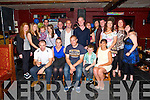 Denis Moriarty, Ardfert celebrating his 30th Birthday with family and friends at the Abbey bar Ardfert on Sunday