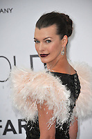 Milla Jovovich  at the 21st annual amfAR Cinema Against AIDS Gala at the Hotel du Cap d'Antibes.<br /> May 22, 2014  Antibes, France<br /> Picture: Paul Smith / Featureflash