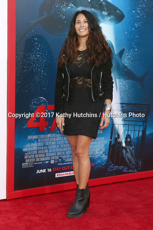 """LOS ANGELES - JUN 12:  Jessica Golden at the """"47 Meters Down"""" Premiere at the Village Theater on June 12, 2017 in Westwood, CA"""